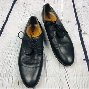 Aldo men's black dress oxfords shoes size 9